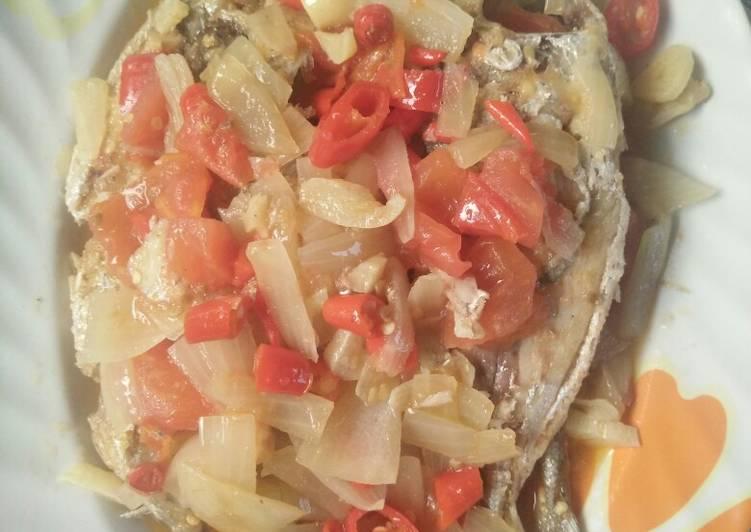 Cara Mudah membuat 114*ikan kembung masak suka-suka* ala resto
