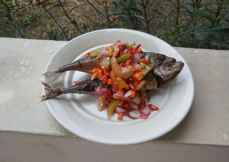 Resep: Ikan kembung layang dabu-dabu yang bikin ketagihan