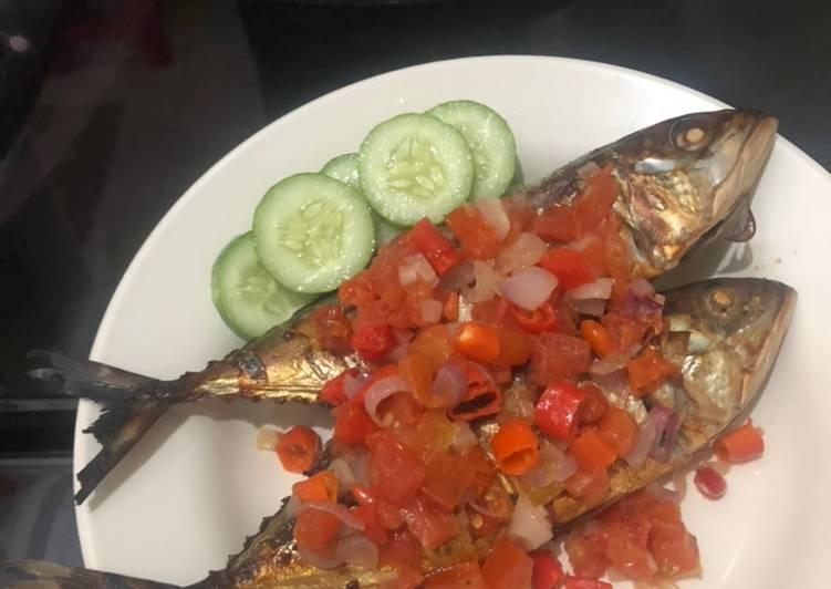 Cara Mudah memasak Ikan kembung dabu dabu istimewa