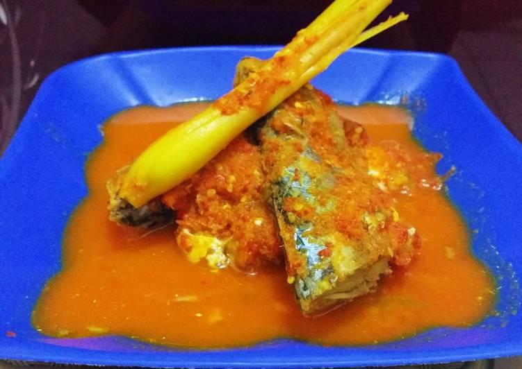 Resep memasak Ikan kembung asam padeh istimewa