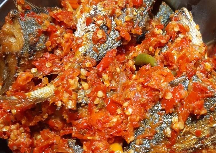 Resep: Ikan gembung balado