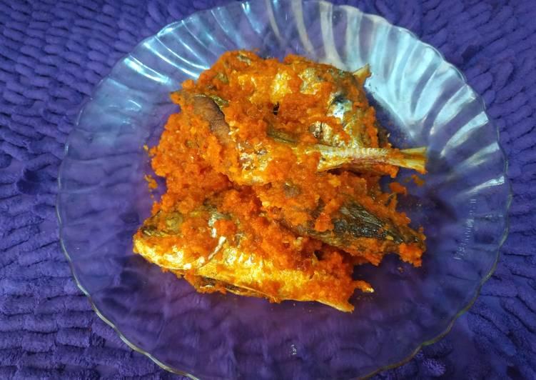 Cara memasak Ikan kembung balado enak