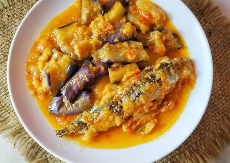 Resep: Ikan pindang& terong masak tempoyak ala resto