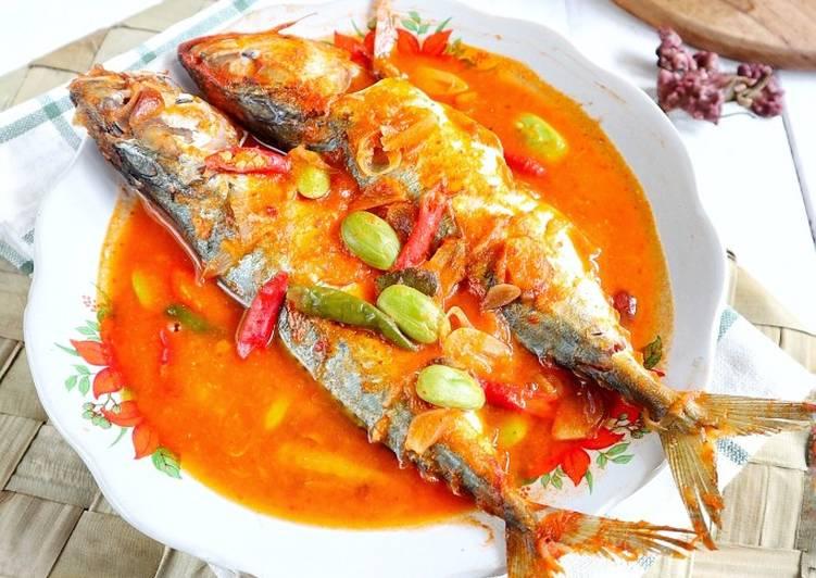 Ikan kembung masak tempoyak