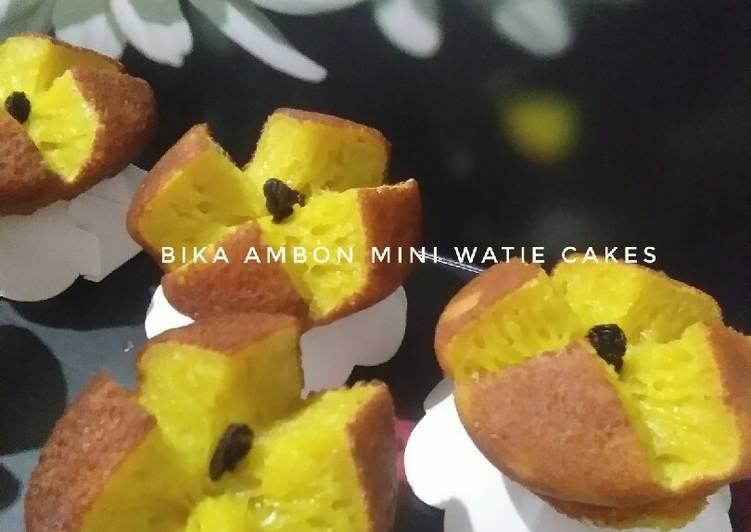 Cara mengolah Bika ambon mini enak