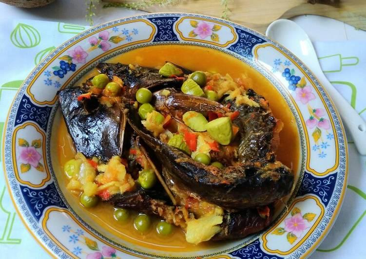 Resep memasak Ikan Salai Masak Tempoyak yang menggugah selera