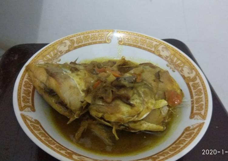 Resep memasak Ikan kue tumis bumbu tempoyak enak