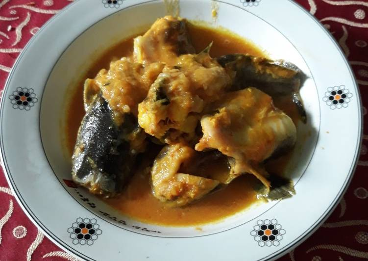 Resep memasak Masak lele campur tempoyak istimewa