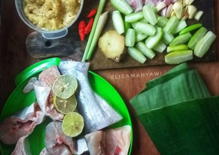 Resep: Pepes tempoyak belimbing wuluh enak