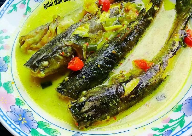 Resep: Gulai tempoyak ikan baung sedap