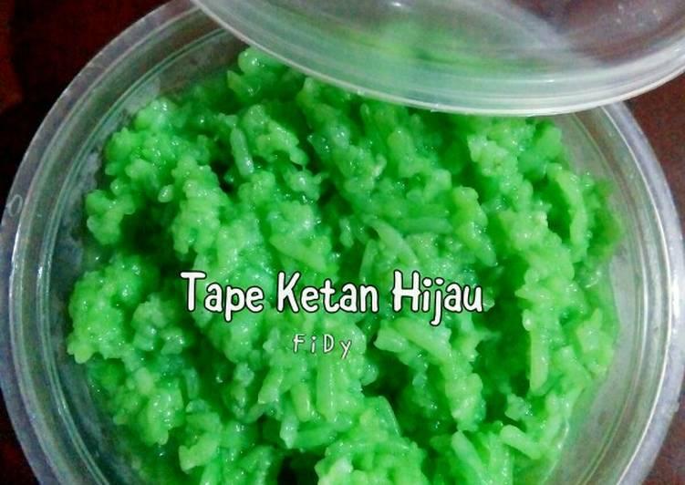 Tape Ketan Hijau Homemade