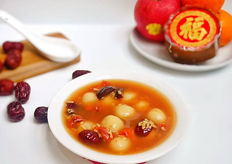 Sup Tape Ketan Tang Yuan/ Kolak Tape Mochi