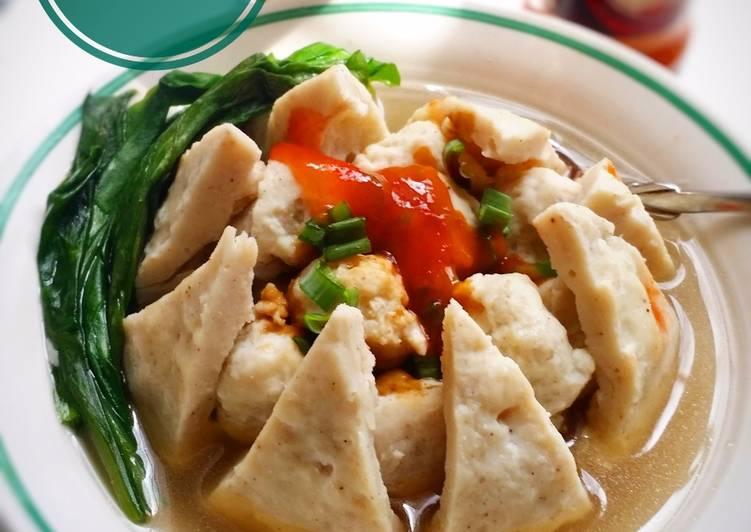 Resep: Bakso Beranak / Bakso udang dan ayam yang menggugah selera