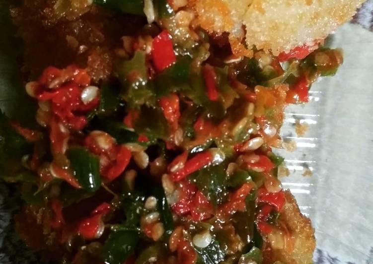 Resep: Bakso beranak sambal rawit lezat