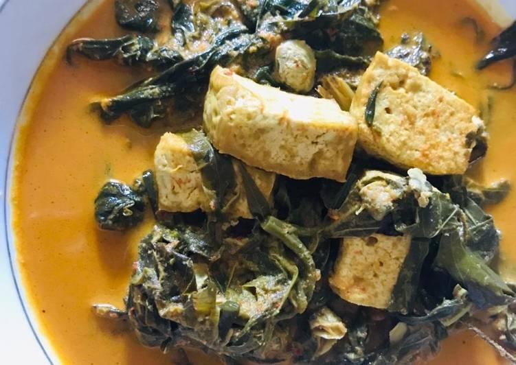 Cara Mudah memasak Gulai pucuk ubi+pensi+tahu lezat