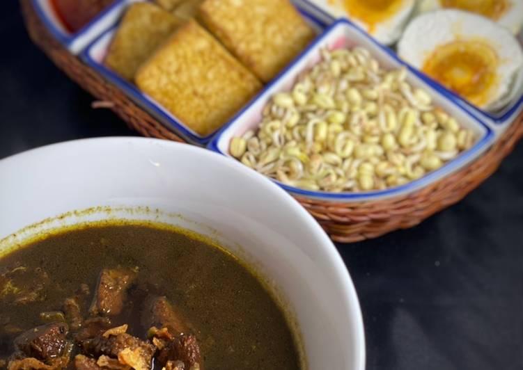 Cara Mudah memasak Rawon Surabaya ala Newyorker lezat