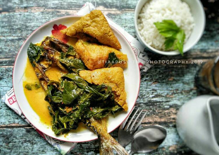 Resep memasak Ikan salai patin pucuk ubi yang menggugah selera