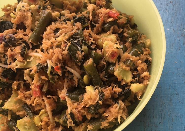 Resep memasak Urap sayur istimewa