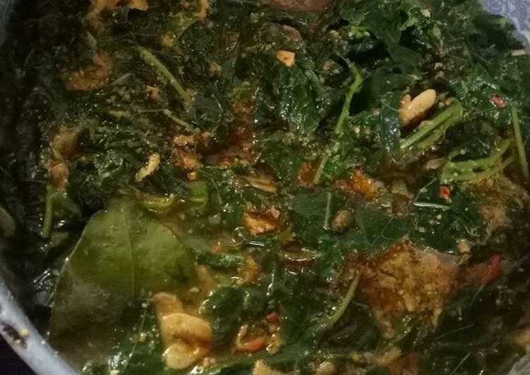 Cara Mudah memasak Sayur daun singkong istimewa