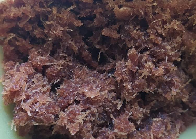 Cara Mudah memasak Unti untuk isian dadar gulung istimewa