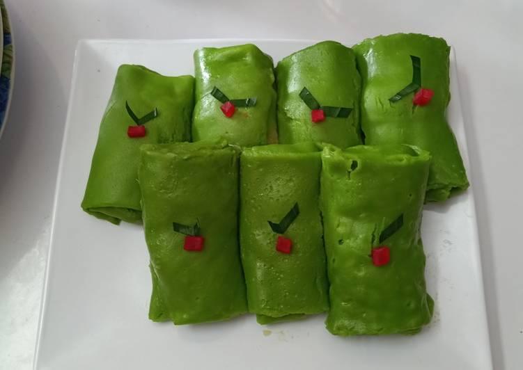 Resep: Dadar gulung durian yang menggugah selera