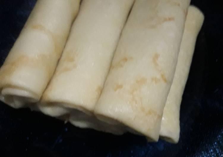 Resep: Dadar gulung kentang lezat