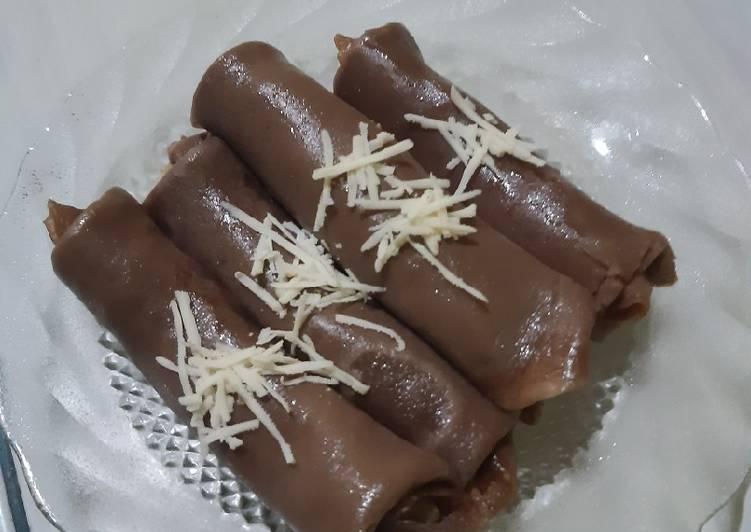 Resep: Dadar gulung coklat yang menggugah selera
