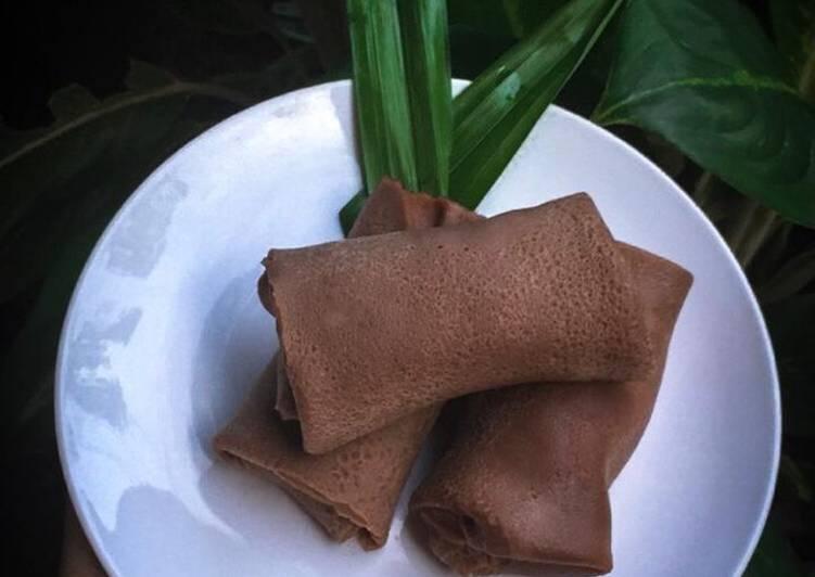 Dadar Gulung Coklat Vla Vanila Kurma
