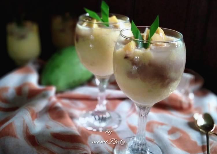 Resep membuat Es Jelly Laksamana Mengamuk yang bikin ketagihan