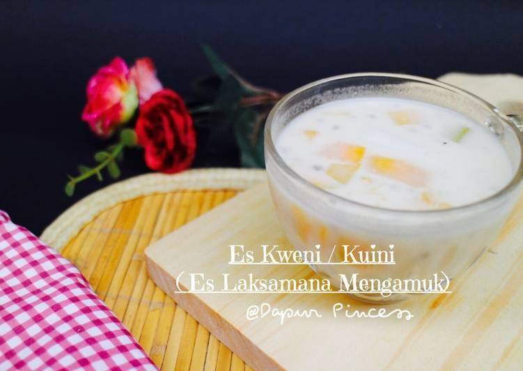 Es Kweni / Kuini (Es Laksamana Mengamuk khas Riau)