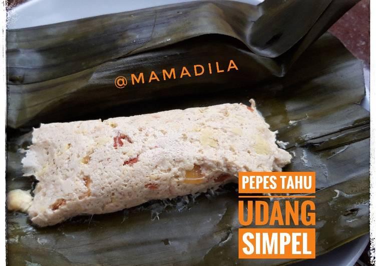 Pepes Tahu Udang Simpel (Menu Balita)