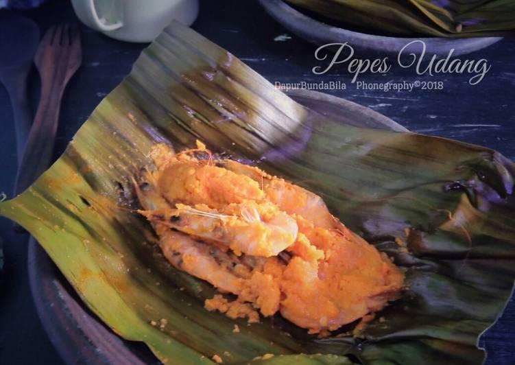 Cara memasak Pepes Udang (#PR_Bukanpepesankosong) ala resto