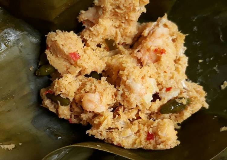 Resep memasak Calon urang/pepes udang lezat