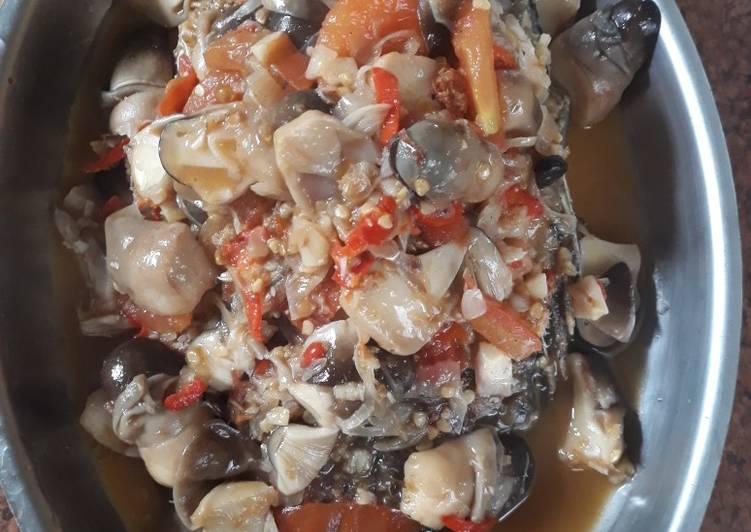 Resep: Pindang nila jamur asam pedas sedap
