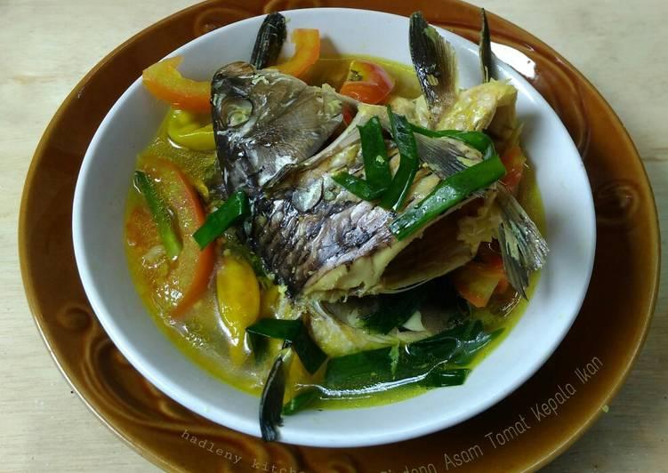 Pindang Asam Tomat Kepala Ikan