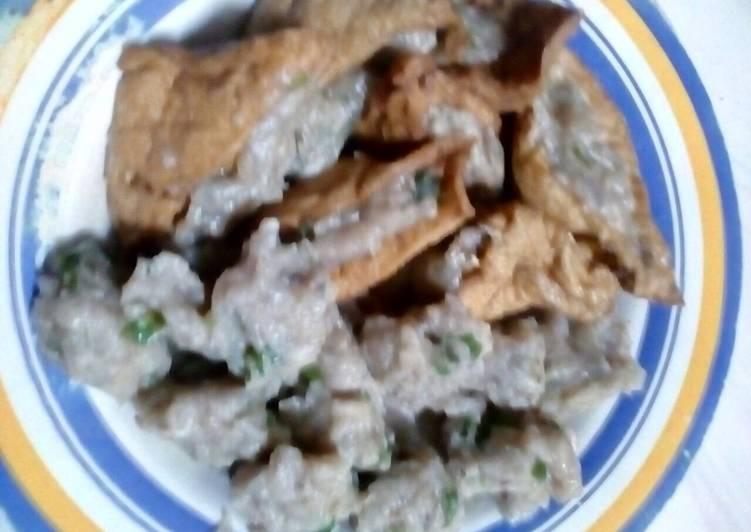 Resep: Siomay ikan pindang tongkol enak