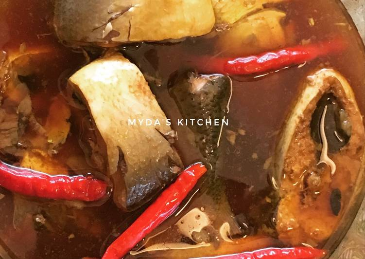 Resep membuat Ikan bandeng pindang kecap istimewa