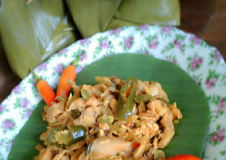 Resep: botok jamur tongkol sedap