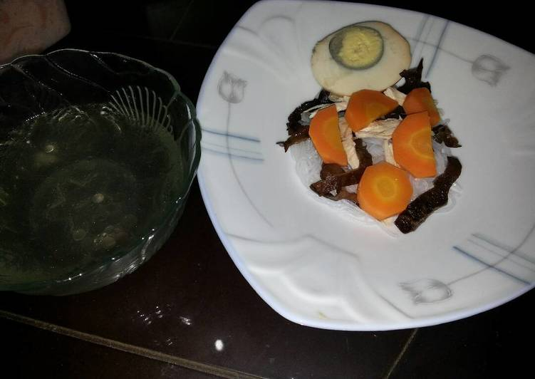 Resep: Sup timlo ala2 yang menggugah selera
