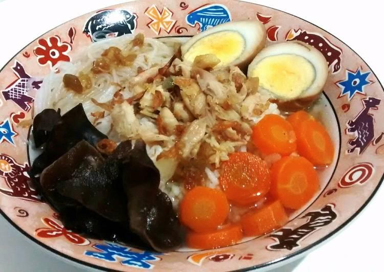 Nasi Timlo Ayam (cocok buat batita)