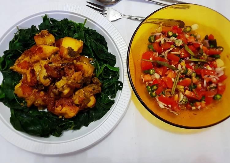 Ayam Betutu vs Sambal Matah