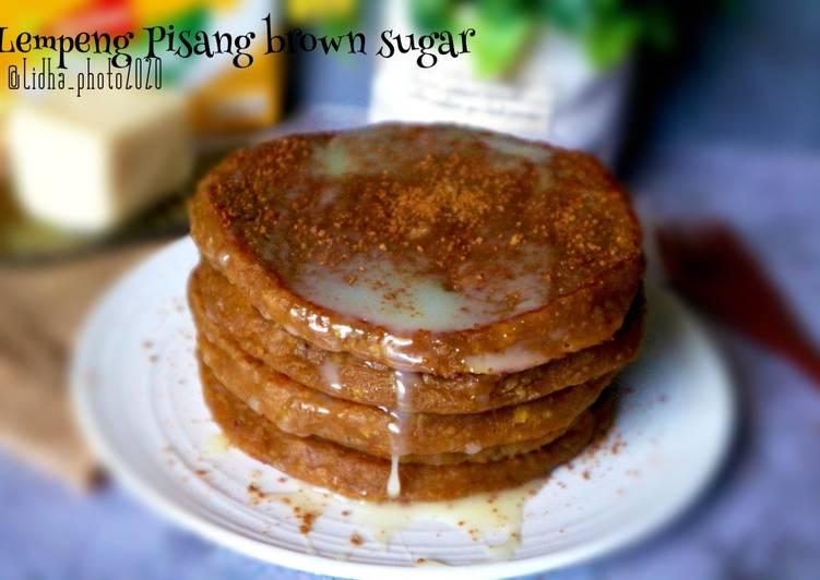 Resep: Lempeng Pisang brown sugar ala resto