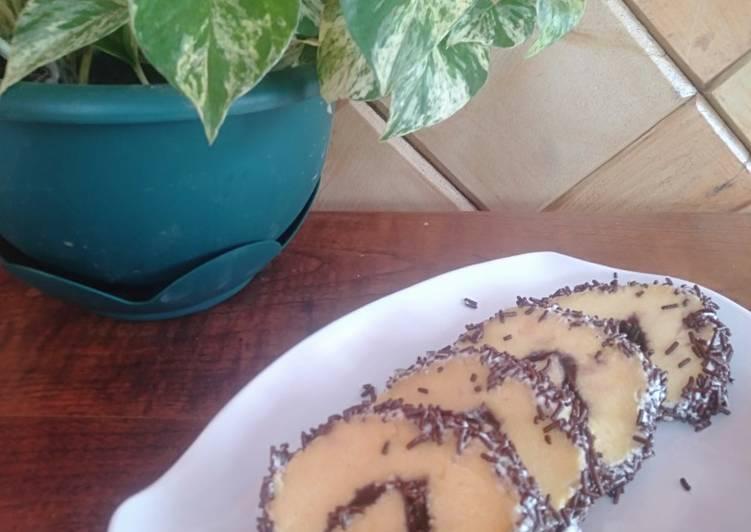 Resep memasak Bolu gulung with mesis yang menggugah selera
