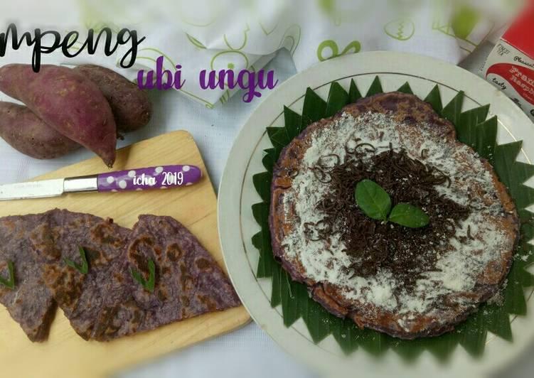 Resep: Lempeng ubi ungu lezat