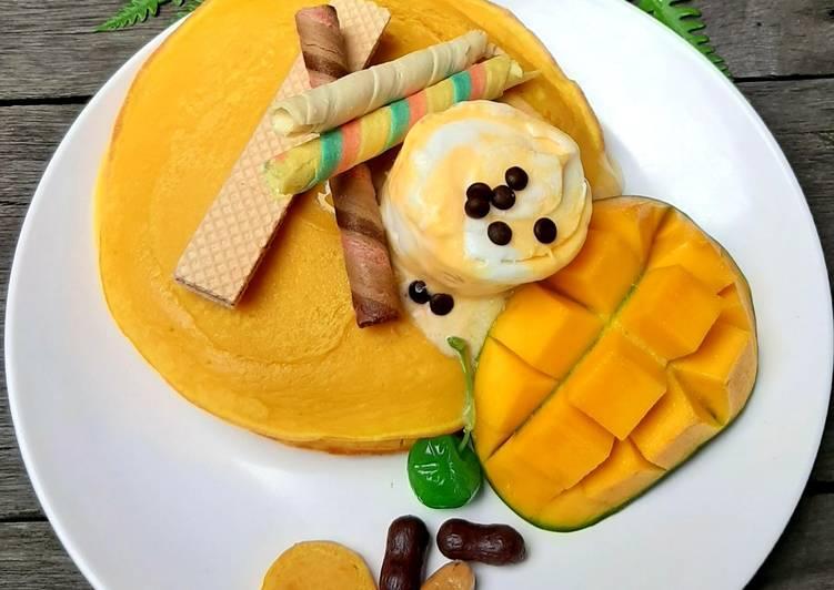 Lempeng Mangga Kekinian / Pancake Mangga