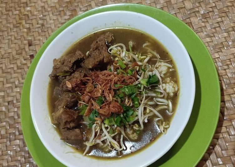 Resep memasak Rawon Daging Sapi yang menggugah selera