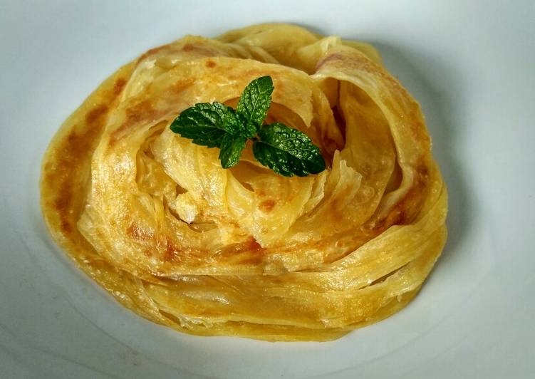 Resep: Roti Maryam /Canai/Cane Overnight yang bikin ketagihan