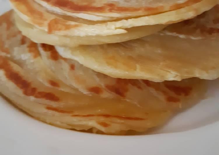 Resep: Roti Maryam/Roti Canai/Roti Paratha ala resto