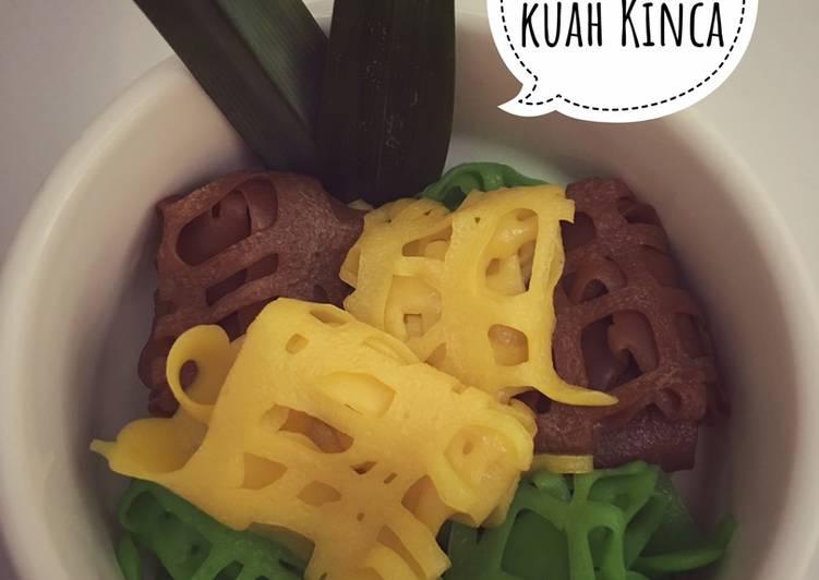 Cara memasak Roti Jala Kuah Kinca Nangka yang bikin ketagihan
