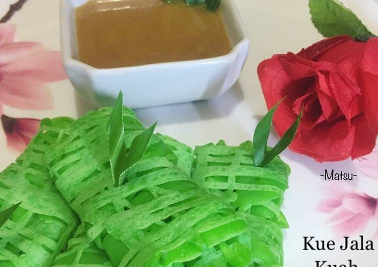 Resep: 82. Roti Jala Kuah Durian yang bikin ketagihan